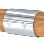 Соединитель пластикового и деревянного поручня